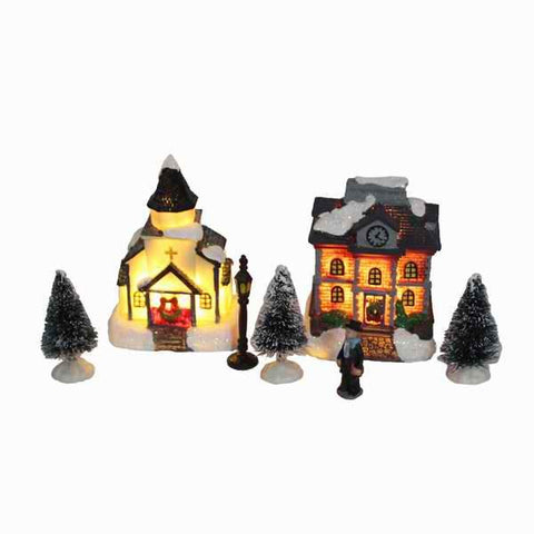 Xmas Decor Lighting up DIY Christmas Doll Figurine - ChristmaShop