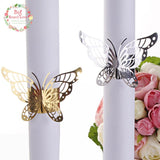 40pcs Creative Butterfly Napkin Rings, Tableware - ChristmaShop