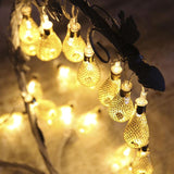 Metal Drop Fairy String Lights - ChristmaShop