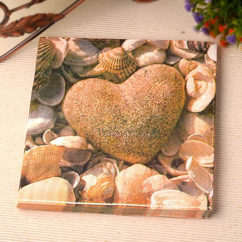 20pcs FOOD GRADE Love Stone theme Napkins in Tableware. - ChristmaShop
