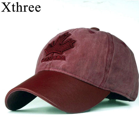 Xthree High Quality Fashionable Canada baseball cap - ChristmaShop