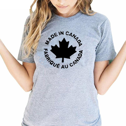 Gorgeous 2018 Women's Creative Canada T-Shirts - ChristmaShop