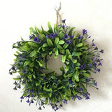 LumiParty Lifelike Artificial Wreath Flowers - ChristmaShop
