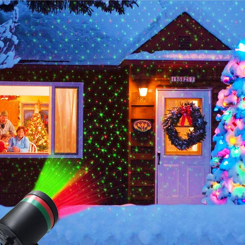 Waterproof Landscape Star Laser Projector - ChristmaShop