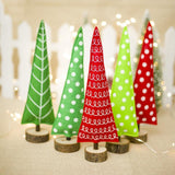 Mini Polka Dot Christmas Trees - ChristmaShop