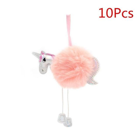 Fluffy Unicorn Christmas Ornaments  - ChristmaShop