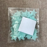 Luminous Glow In The Dark Stars - ChristmaShop