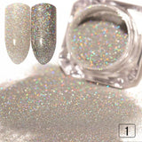 Gradient Shiny Nail Glitter - ChristmaShop