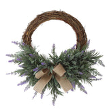 Stunning Christmas Wreath with Bow - ChristmaShop