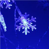 Magical Snowflake LED String Lights - ChristmaShop