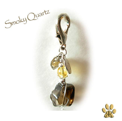 "Dog Charms ""Smokey Quartz"" By Cheli Chelouche - ChristmaShop"