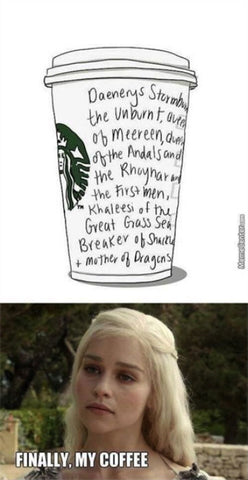 Mother of Dragons Coffee