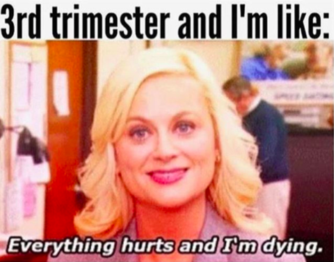 3rd Trimester Everything Hurts