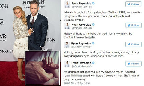 Ryan Reynolds Tweets