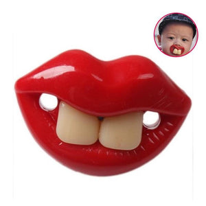Funny Parent Gifts Kids Buck Teeth Billy Bob Pacifier for Babies