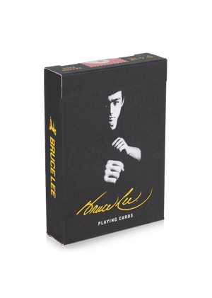 Funny Parent Gifts Men Bruce Lee Playing Cards