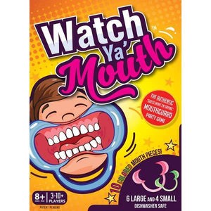 Funny Parent Gifts Parent and Child Watch Ya' Mouth Game