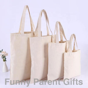 Funny Parent Gifts wholesale bags Samples of Merchant Tote Bags with Desired Image and Custom Logo