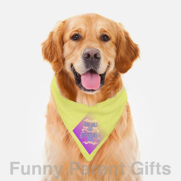 Good Girls Sit Pet/Dog Bandana