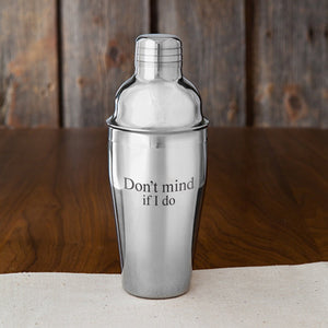 JDS Gifts Unisex Personalized 20 oz Stainless Steel Cocktail Shaker