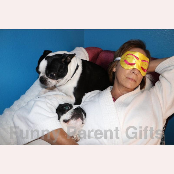Bollywood Starlet Sleep Mask