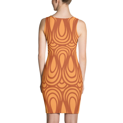 Deco Patterned Dress