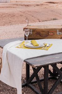 Nappe Agafay Blanc - VERDADE TRAVEL STORIES