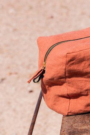 Trousse Habibi Terracotta - VERDADE TRAVEL STORIES
