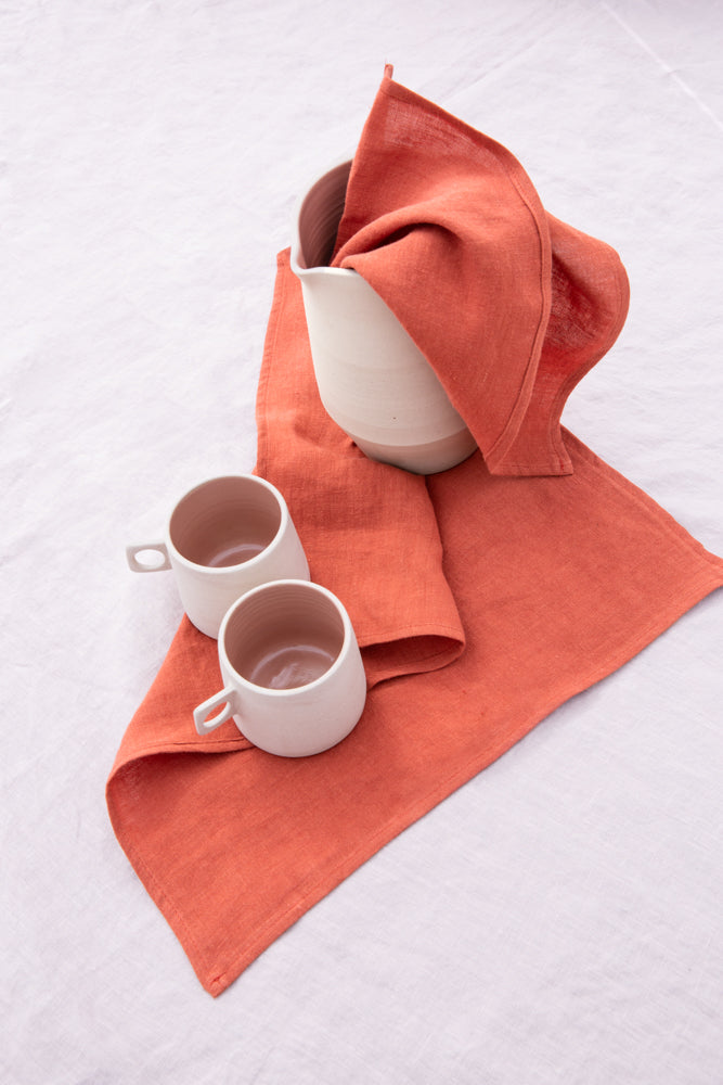 Set/Serviette Malaki Terracotta - VERDADE TRAVEL STORIES
