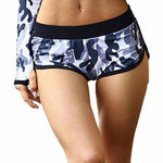 Camouflage Running Yoga Low-Waist Breathable Shorts