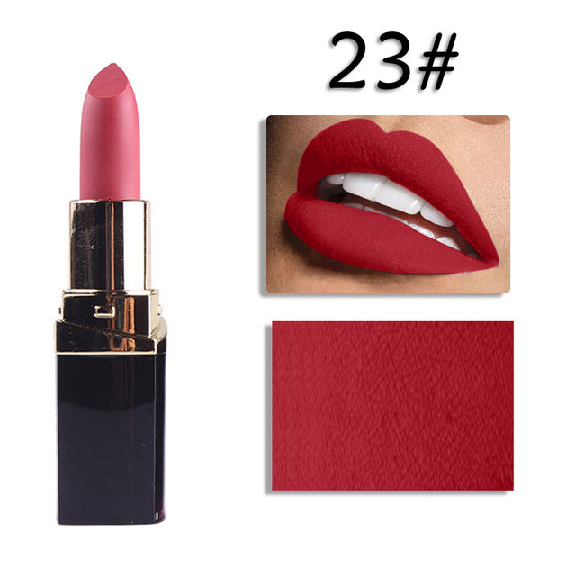 MISS ROSE Sexy 42 Colors Matte Nude Lipstick