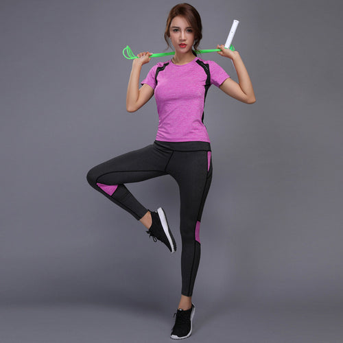 Yoga Set Shirt & Pants