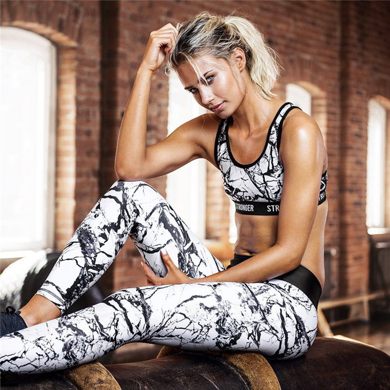 Breathable Sport Sets Bra & Leggings