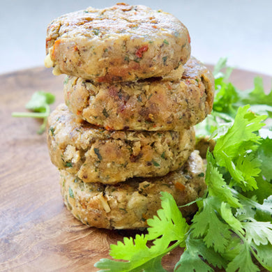 Vegan Tempeh burger patties South Africa