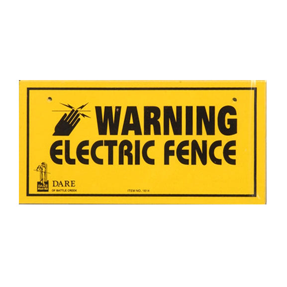 Warning Signs - electricfencecompany