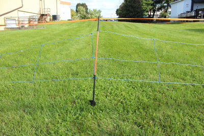 Hog and Wildlife Deterrent Electric Netting 3/29.5/8 - Blue, 164'