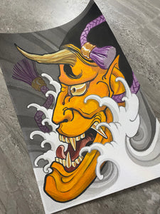 """Hannya Wave"" Original Painting by Boeden Alfonso"
