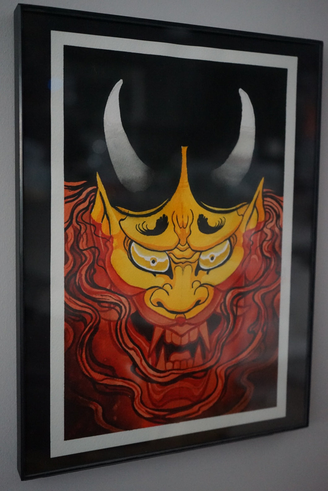 """Hannya Blood"" Original Painting by Boeden Alfonso"