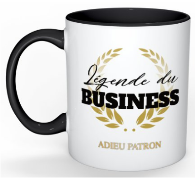 Mug #1 Légende du business