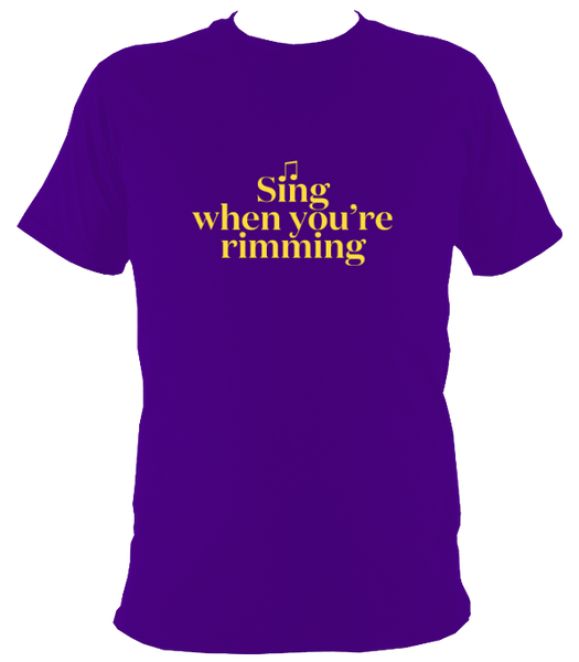 Sing When You're Rimming
