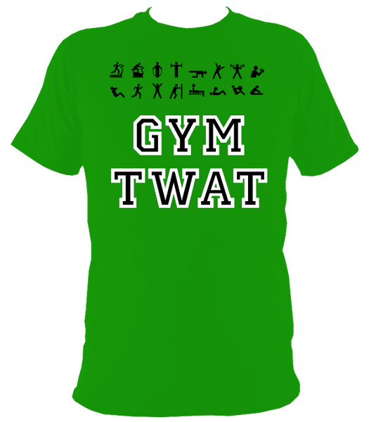 The Rude Gift Company Gym Twat T Shirt, Slogan T Shirts, Cool T Shirts, Slogan Tees, Designer Shirts, Cheap T Shirts, Slogan, Slogan, Funny Fitness T Shirt, Funny Fitness Tees, Funny Fitness T Shirts