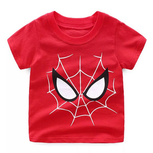 T-shirt manches court  rouge spider man 2-7