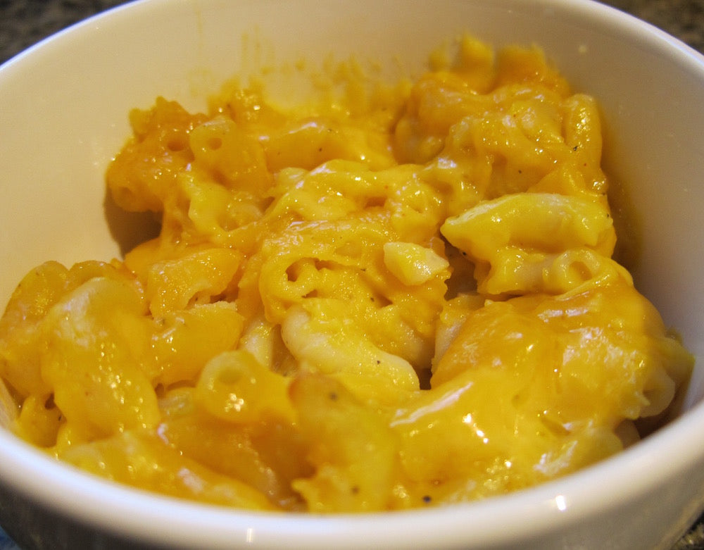 Butternut Squash Mac'N'Cheese (Serves 2-3 adults)