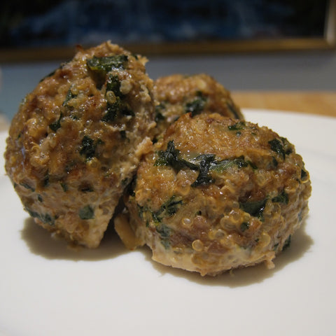 Chicken Meatballs with Quinoa and Kale (Package of 8)