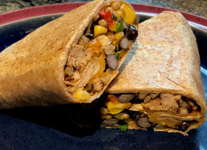 Grilled Chicken Burritos