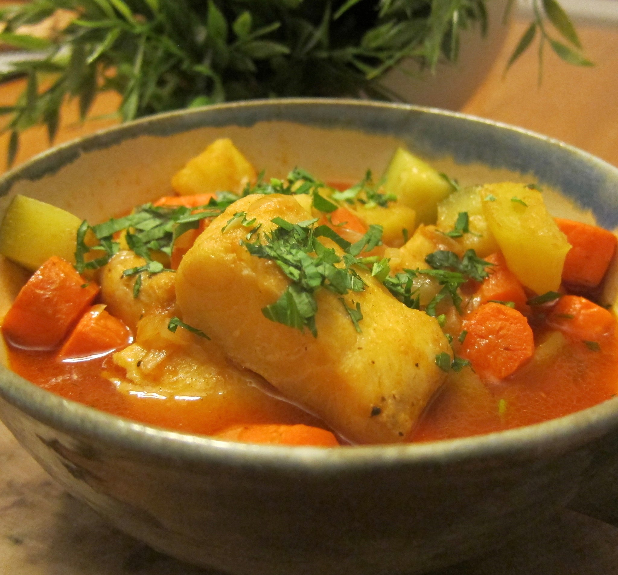 Tunisian Fish and Vegetable Stew