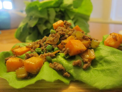 Asian Lettuce Wrap Filling (Serves 2-3 adults)