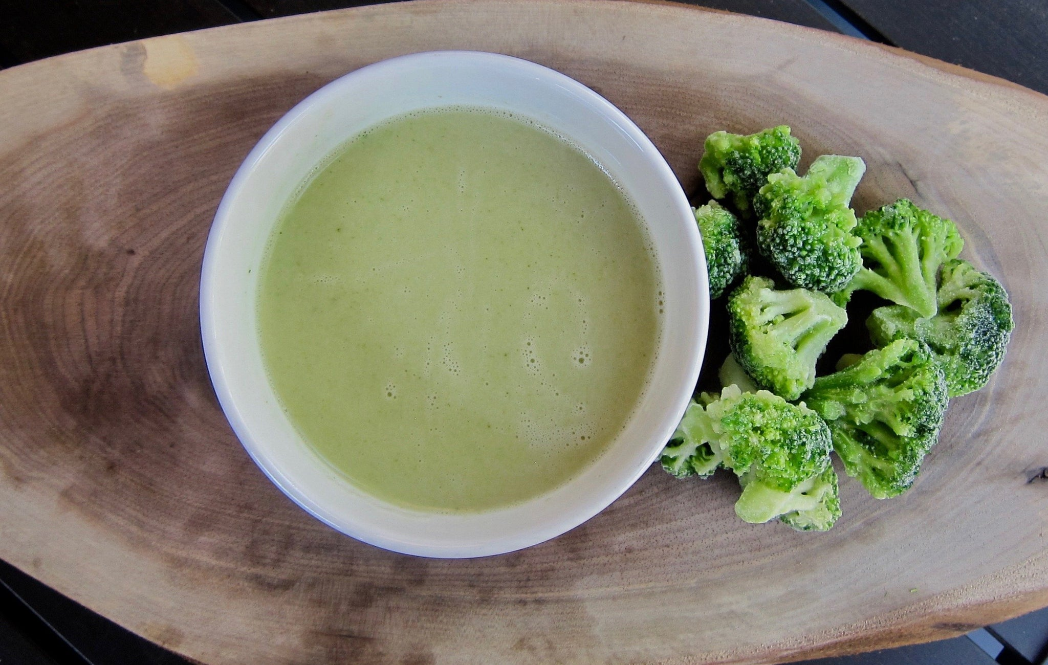 Broccoli Soup with Coconut Milk (Serves 2-3 adults)