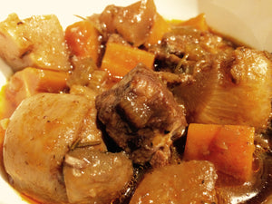 French Style Beef Stew (Serves 2-3 adults)