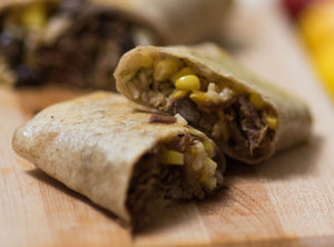 Kid-Size Braised Beef Burritos (Package of 3)